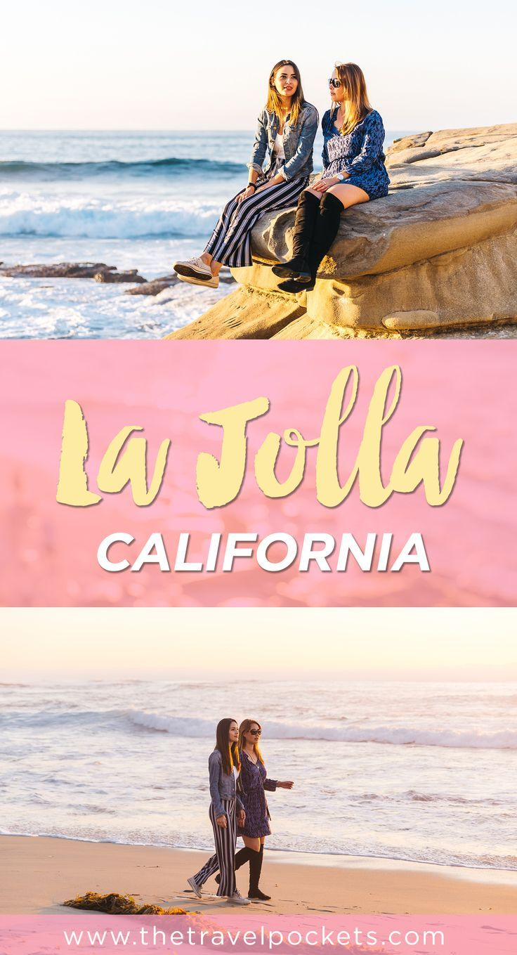 Catching The Sunset At La Jolla California With Images