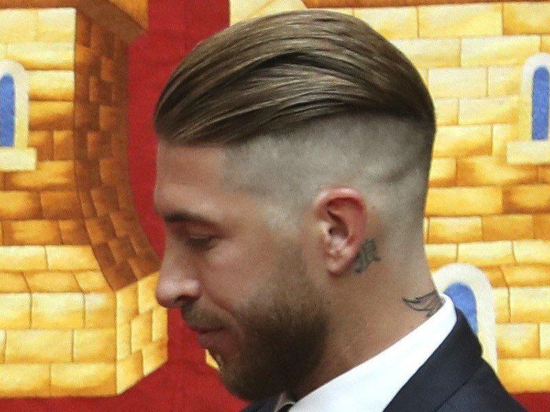 Sergio ramos peinado actual