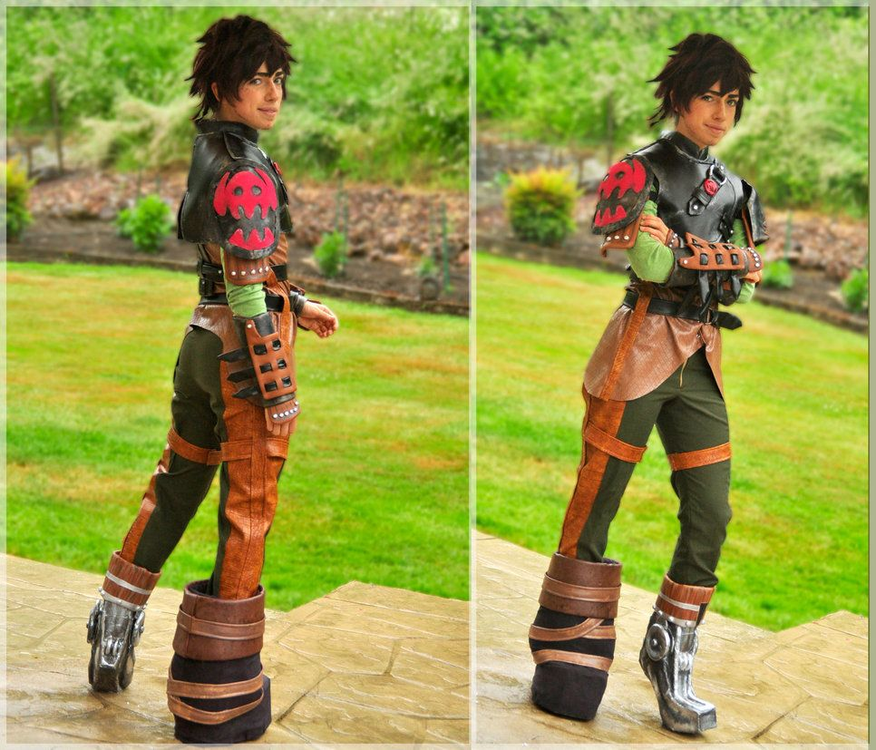 How To Train Your Dragon 2 By Theelfinartist On Deviantart How Train Your Dragon Hiccup Costume Creative Costumes