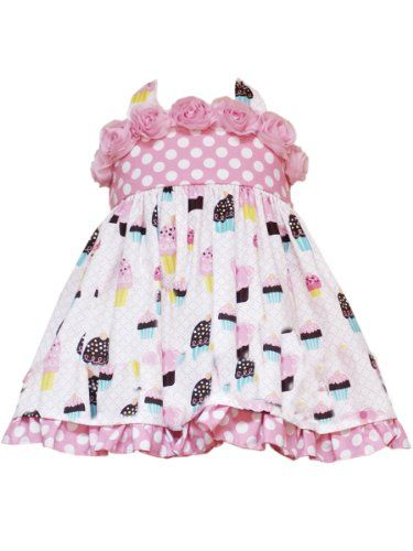 c3cfbccfd Rare Editions Baby-Girls Infant Dot Cupcake Print « Dress Adds ...