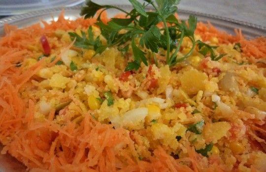 Farofa fria prática e deliciosa para o fim de ano