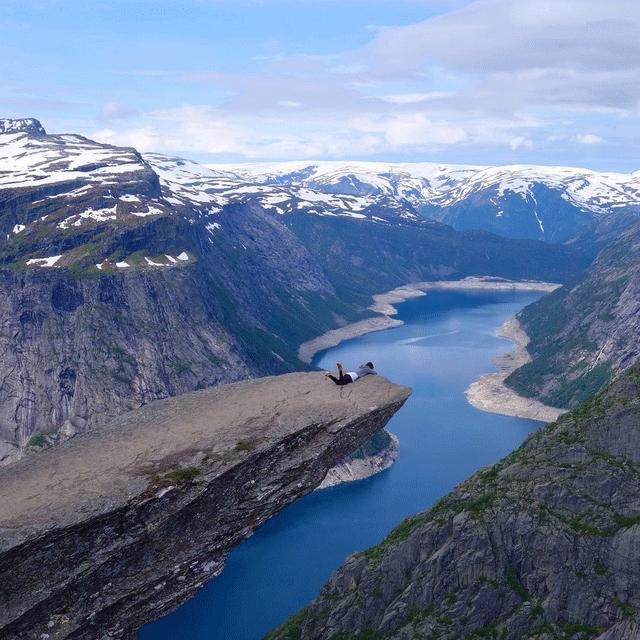 Trolltunga, Norway. #Imgur