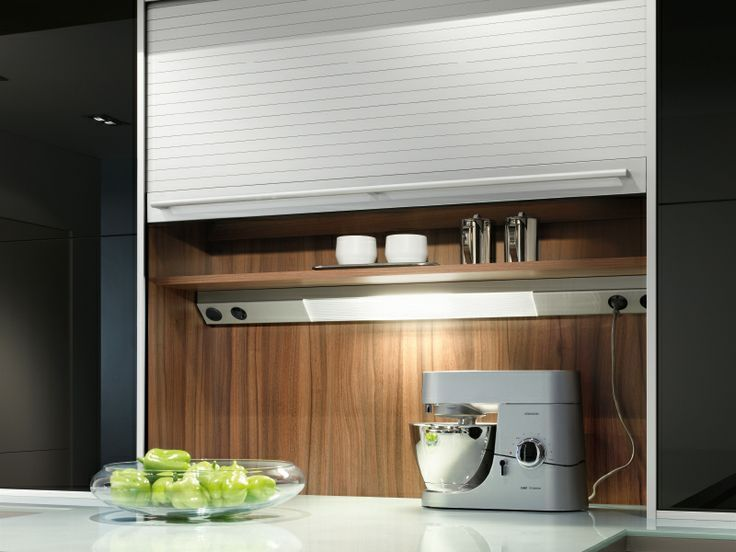 Bildergebnis für küche rollo schrank | Küchenideen | Pinterest ...
