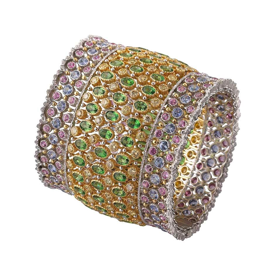 July 2014 - Buccellati Dream Bracelets collection in thejewelleryeditor.com