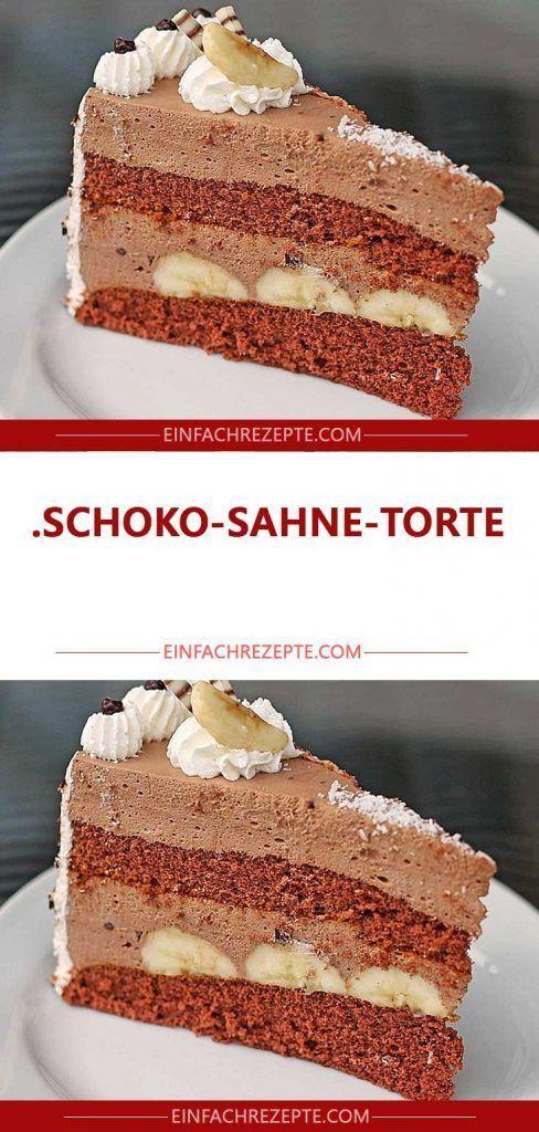 Schoko Sahne Torte Schoko Sahne Torte Kuchen Dekorieren Experte Fur Einige Ist Das Dekorieren Von In 2020 Schoko Sahne Torte Kuchen Und Torten Leckere Torten