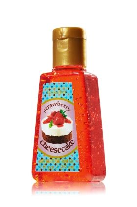 Strawberry Cheesecake Pocketbac Sanitizing Hand Gel Anti