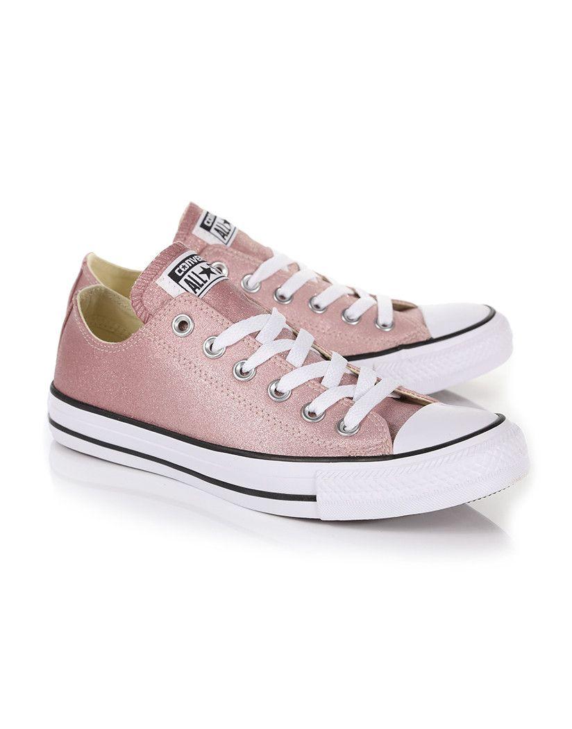 fb9767bbcc72 Converse Women s Chuck Taylor All Star Ombre Metallic Sneakers ...