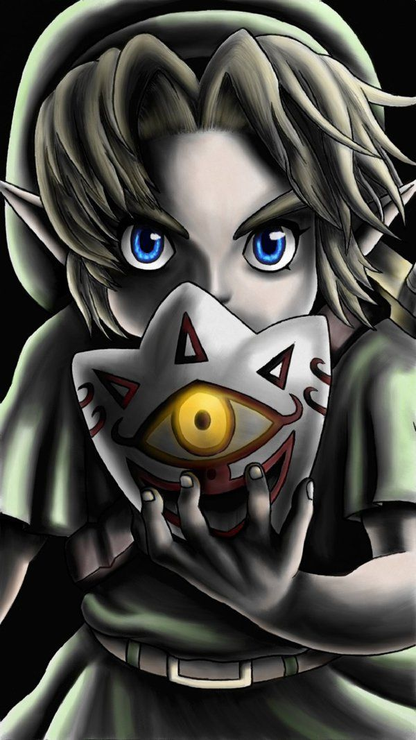 Link From The Majora S Mask 3ds By Etinel Deviantart Com On