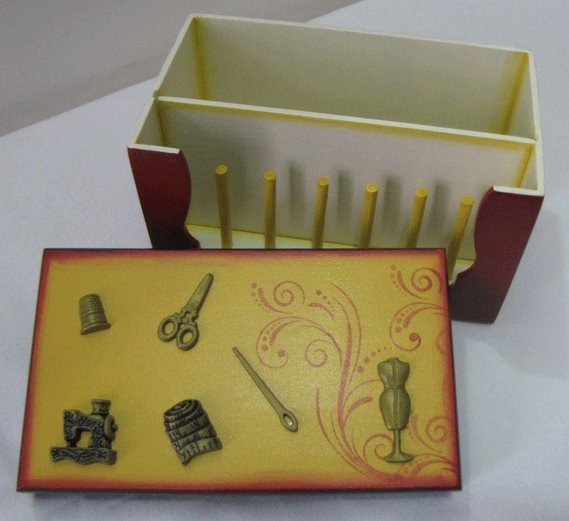 Caixa de costura pequena