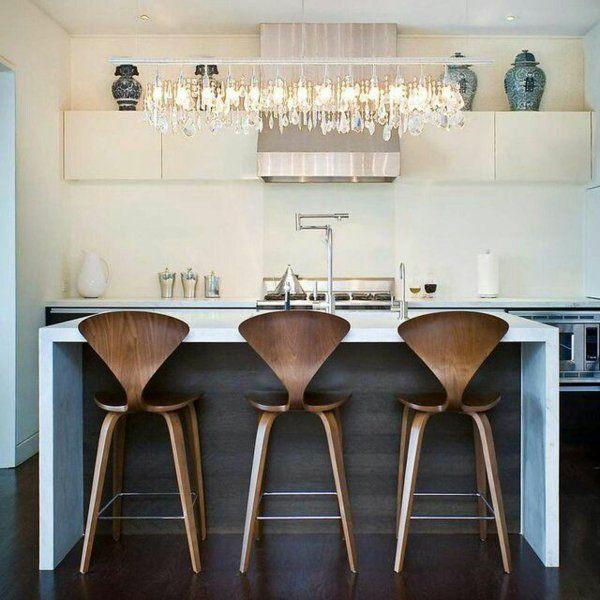 90 moderne Küchen mit Kochinsel ausgestattet | Kochinsel, Hocker und ...