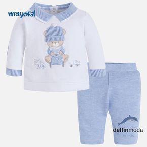 Conjunto para bebe niño de MAYORAL newborn oso bordado  1aae6b6e1576