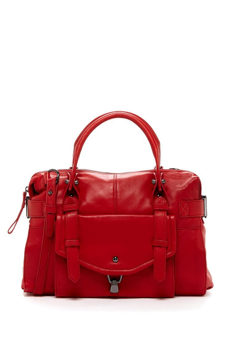Gorgeous red hobo bag