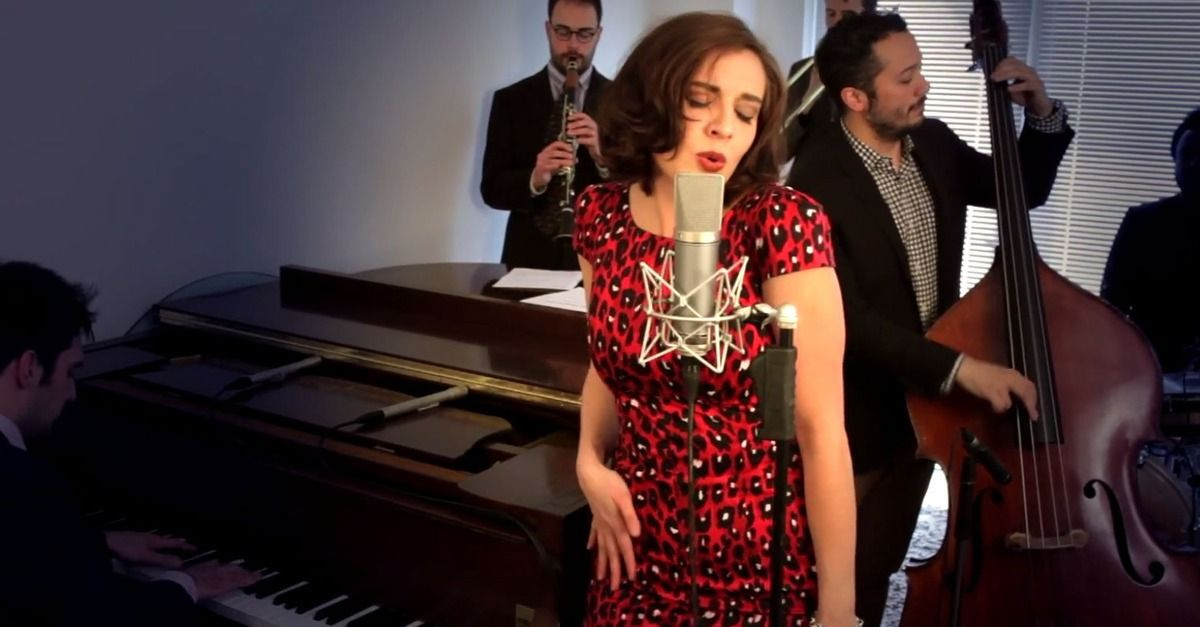 Here's a spin on 'No Diggity' you haven't seen before -- reimagined for Jessica Rabbit at the Patty Cake Lounge.