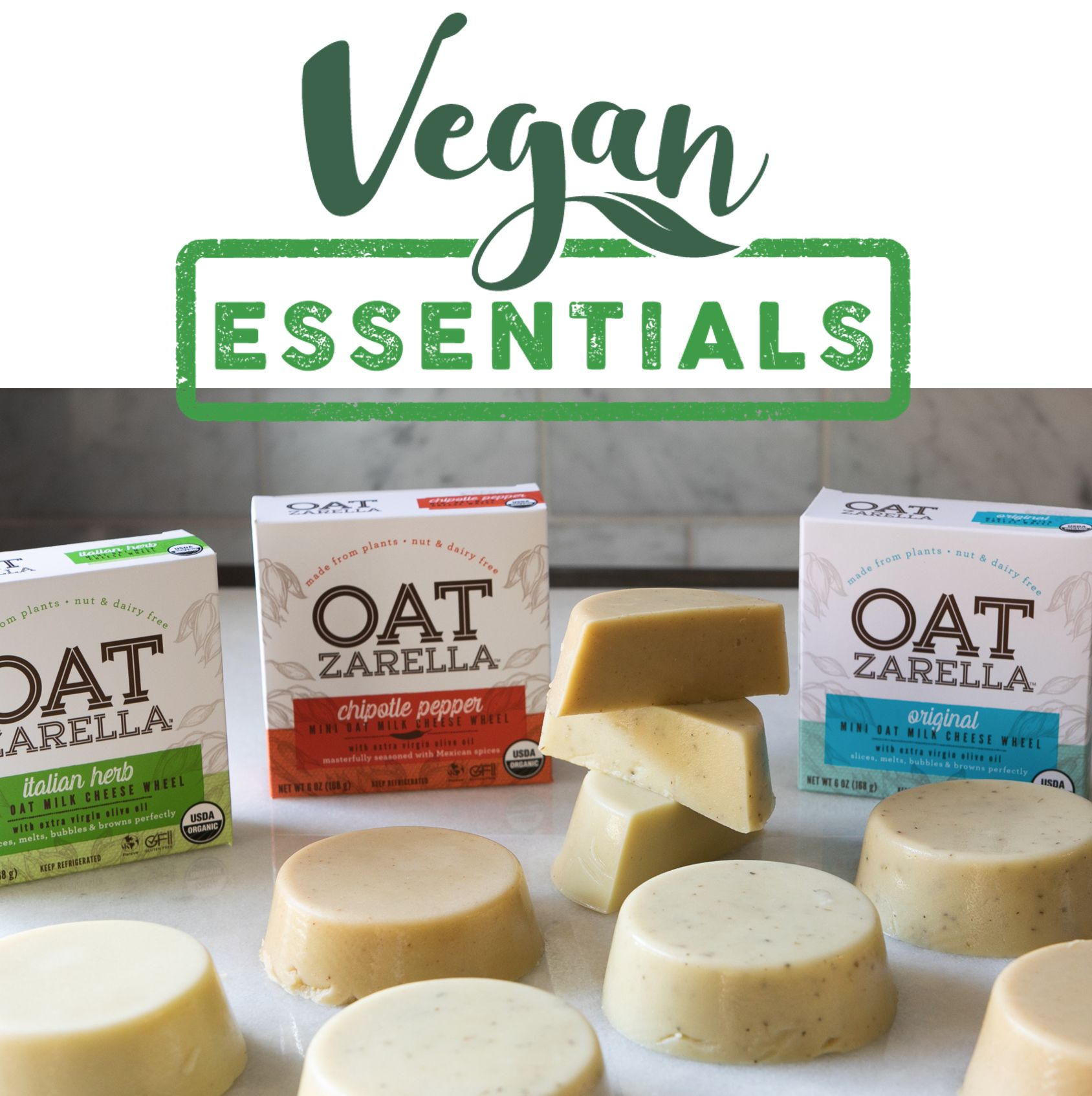For Those Not Near One Of The Wonderful Places That Carry Oatzarella You Can Find Us Online At Vegan Essentials Ht In 2020 Allergen Free Recipes Food Allergy Mom Food