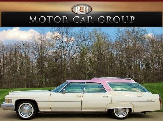 '74 Cadillac DeVille Wagon  Owned by Elvis Presley
