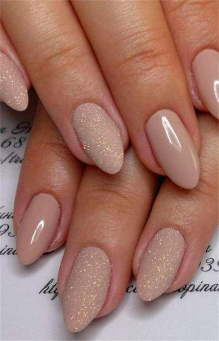 61 new Ideas for nails ideas neutral rose gold