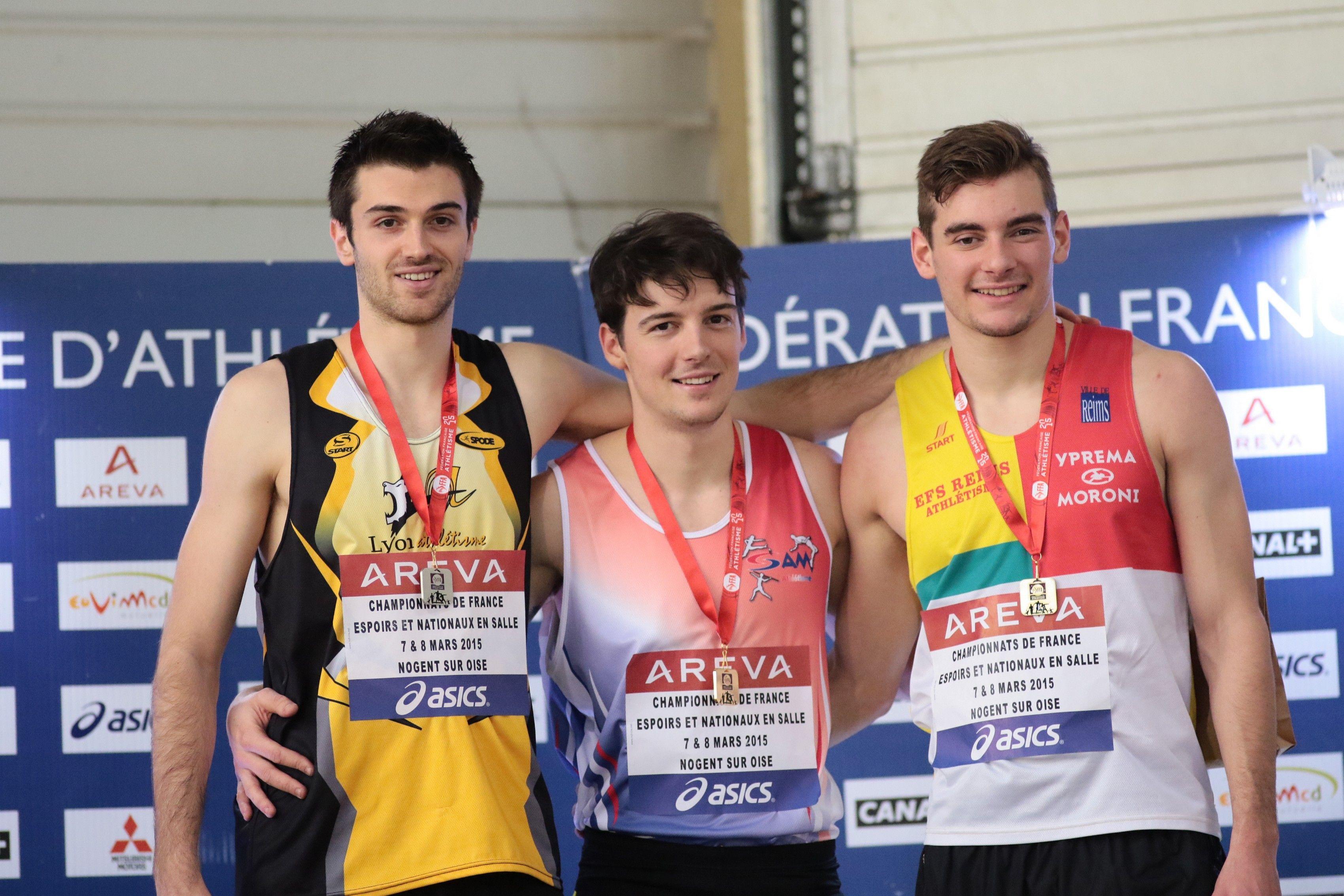 Alexandre Divet - 200 et 400m - Championnats de France 2015