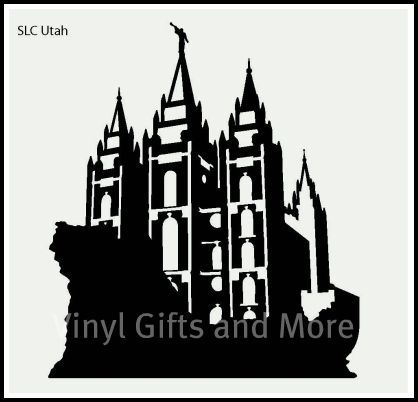 temple salt lake city utah vinyl only this comes in four sizes small fits a tile small block fits an block with an inside measurement of medium fits