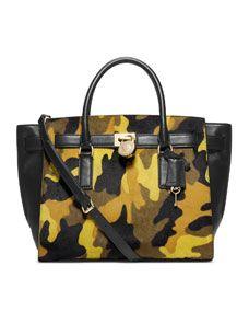 7df79ad482f279 MICHAEL Michael Kors Large Hamilton Camo Traveler | IN THE BAG ...