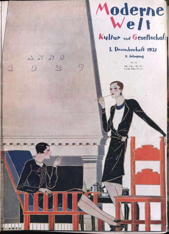 Moderne Welt 1927