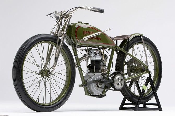 "Fast Is Fast Pea Shooter Harleys: 1928 Harley-Davidson ""SA"" 350cc Peashooter"
