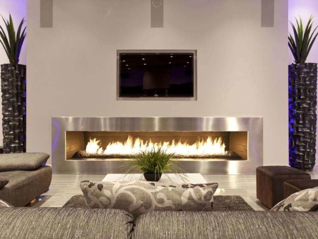 Electric fireplaces and Contemporary