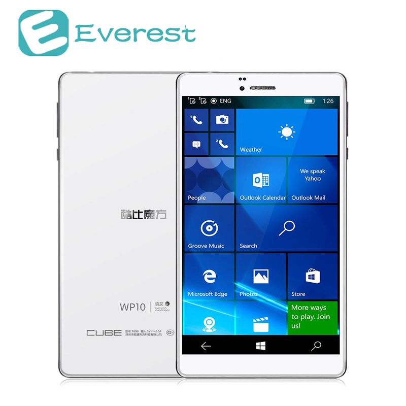 Cube Wp10 4g Phablet 6 98 Inch Windows 10 Mobile 2gb 16gb Qualcomm Msm8909 Quad Core 1 3ghz Ips 1280 720 Gps Dual Stand Windows Tablet Windows 10 Mobile Tablet