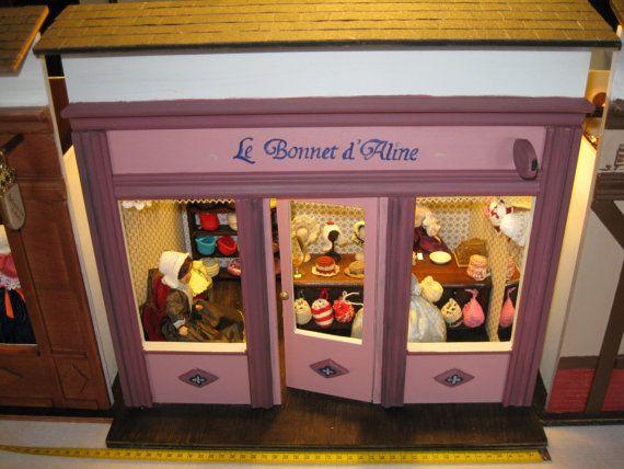 Le Bonnet d Aline    Hats and Bonnets     Hüte by 19thcenturyshop, $580.00