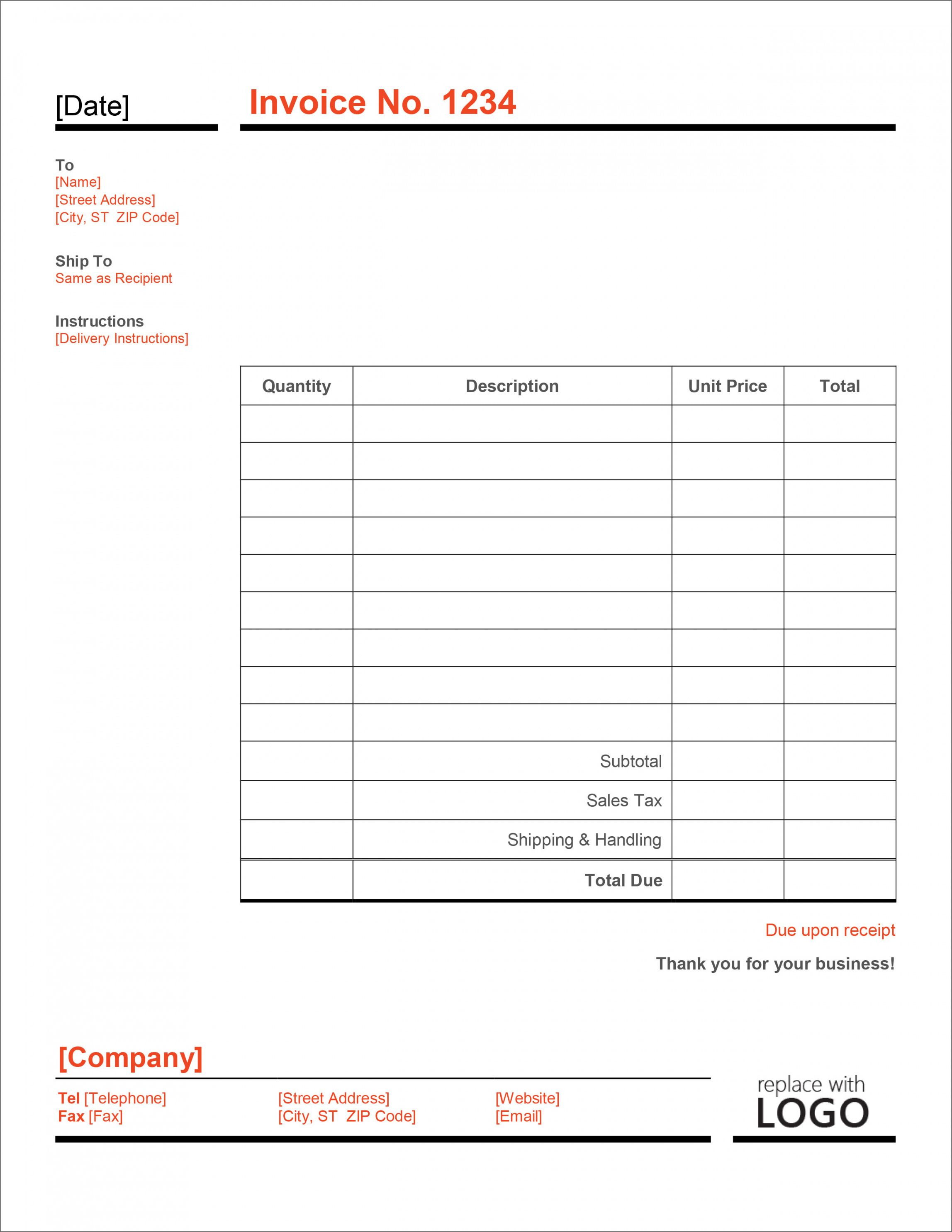 Get Our Sample of Small Sales Receipt Template Receipt