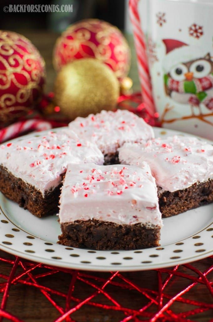19 impressive christmas desserts pinterest christmas desserts candy canes and brownies - Easy Christmas Desserts Pinterest
