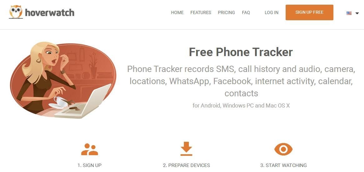 Hoverwatch Lets You Track Your Cell Phone Location