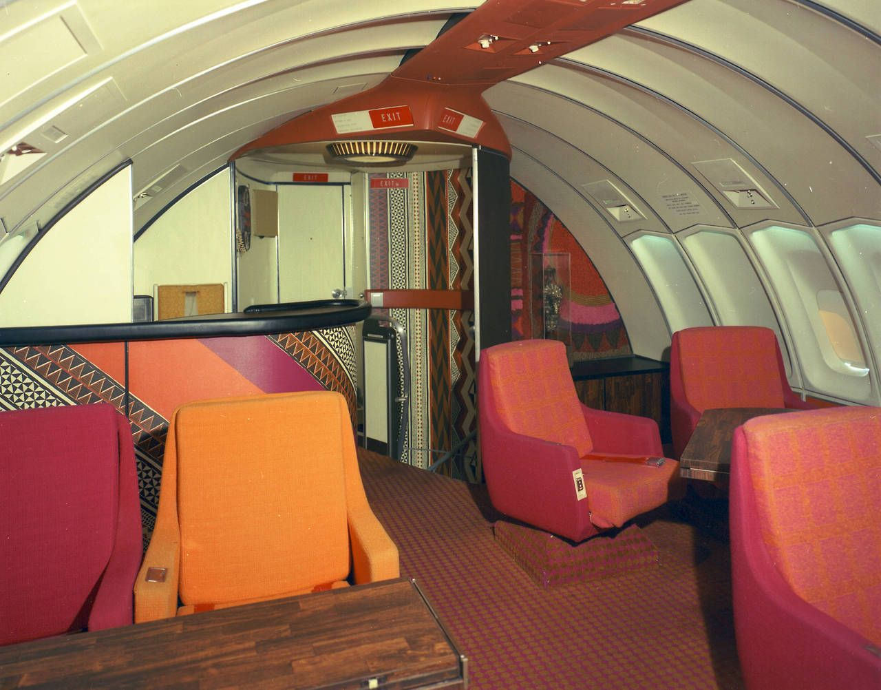 Usclibraries How We Flew In 1972 A Continental