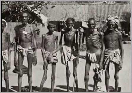 Adultos com Fome na Índia