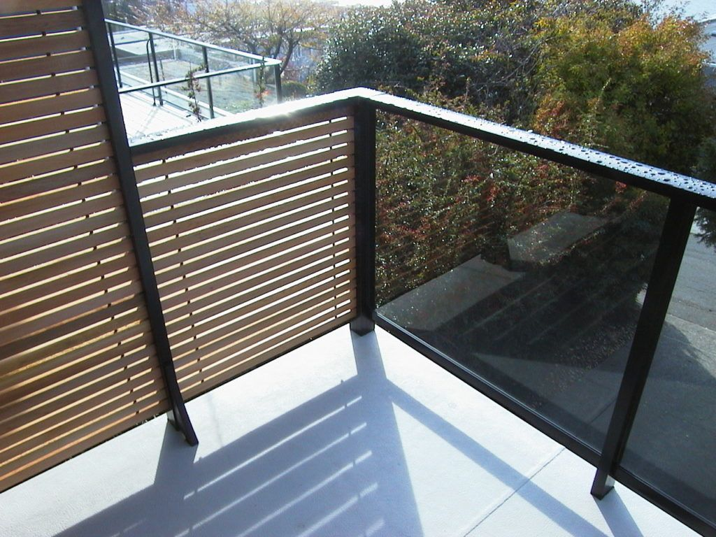 Aluminum Deck Railings With Stainless Steel Cables Glass Panels Or