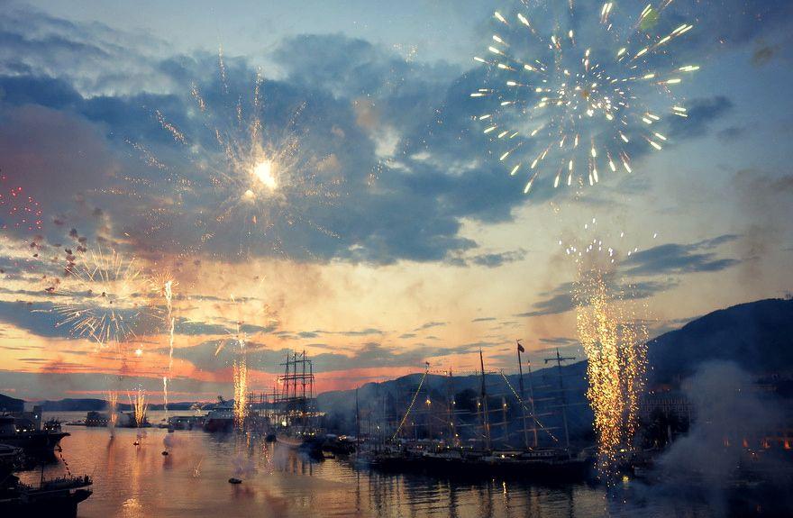 Tall ship race in Bergen, summer 2014 - photo by Kristina Andersen