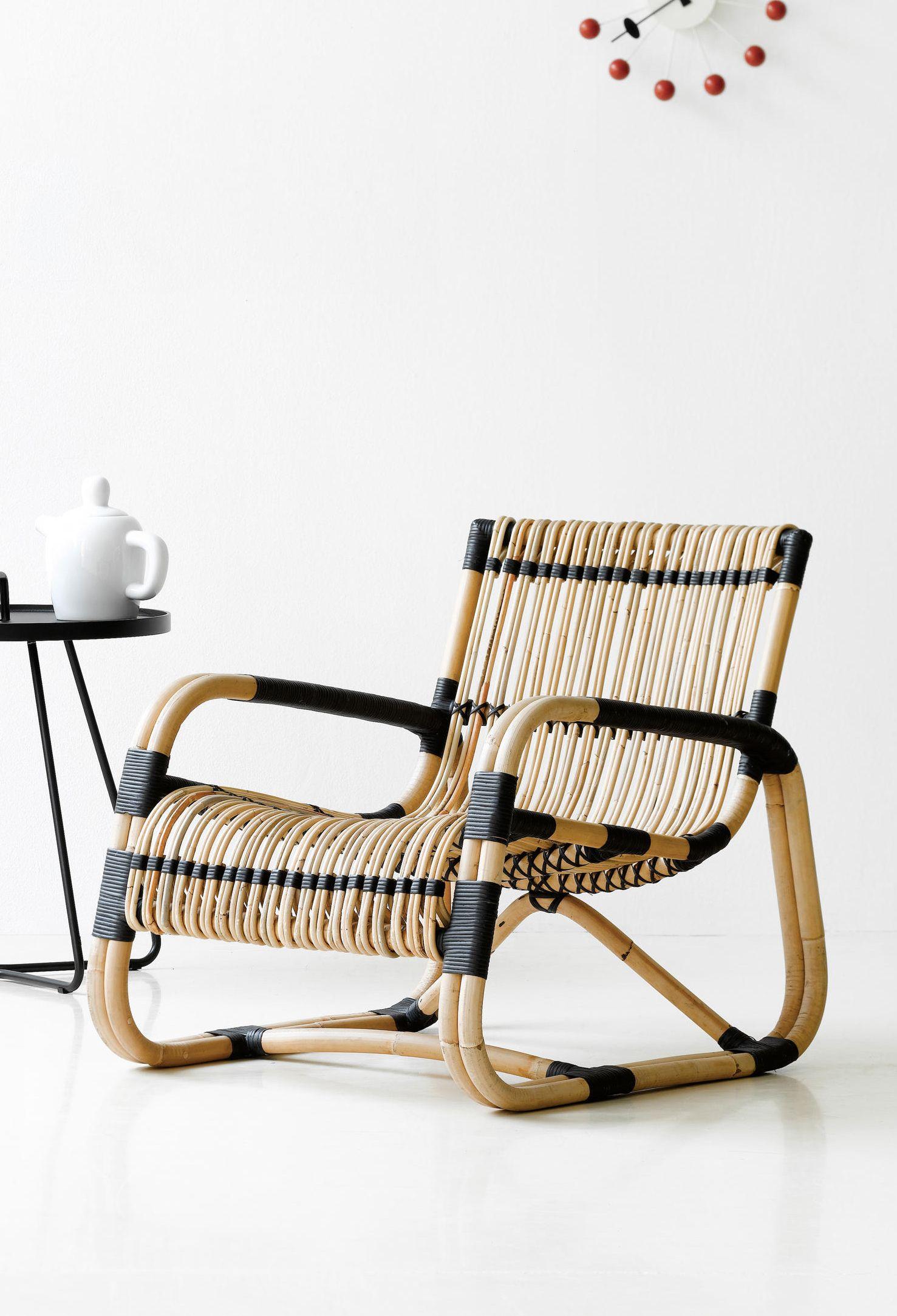 Curve Lounge Chair Cane Line Comfortable Outdoor Chairs Outdoor Chairs Pool Lounge Chairs