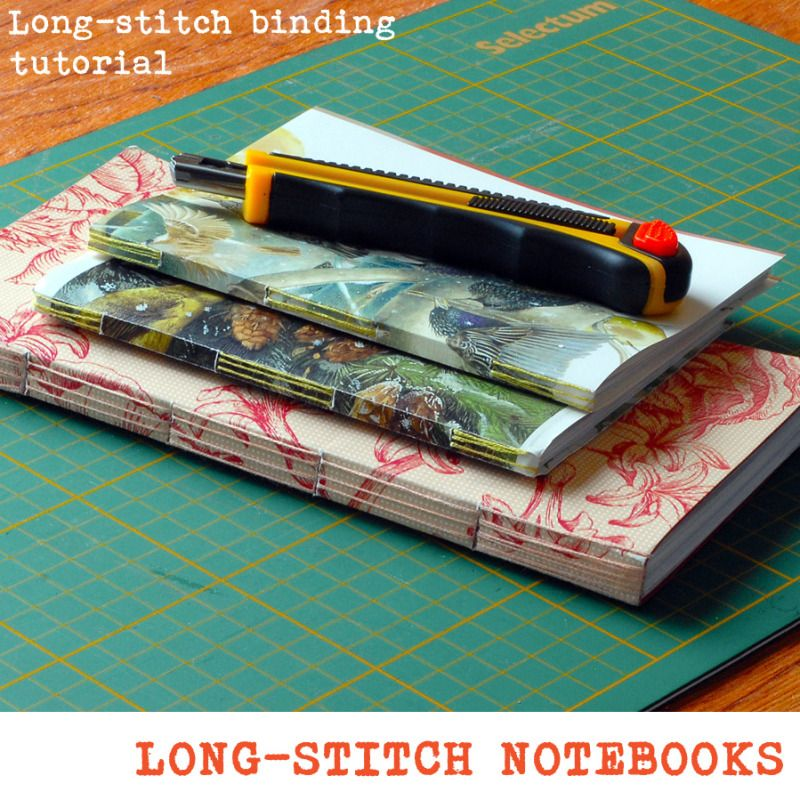 Long Stitch Binding Tutorial