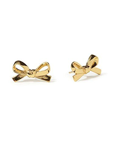 Kate Spade New York Skinny Mini Bow Stud Earrings, Golden kate spade new york http://www.amazon.com/dp/B00RD7CABU/ref=cm_sw_r_pi_dp_R4yMub1N81D1P