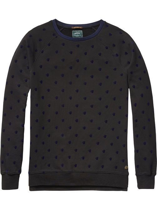 Coffee Cup Sweater   sweat   Men Clothing at Scotch & Soda