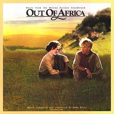 Out Of Africa John Barry Movie Soundtracks Out Of Africa Soundtrack