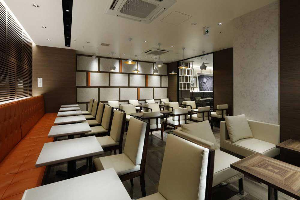 ellegance Tullys Coffee Shop interior designcafelounge design