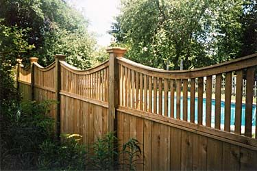 Pin By Shawna Anderson On Garden Wood Fence Design Backyard Fences Fence Design