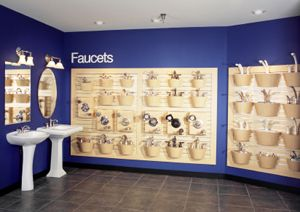 Faucet Wall Idea Like Color Showroom Studio Ideas Pinterest Orange County Showroom And