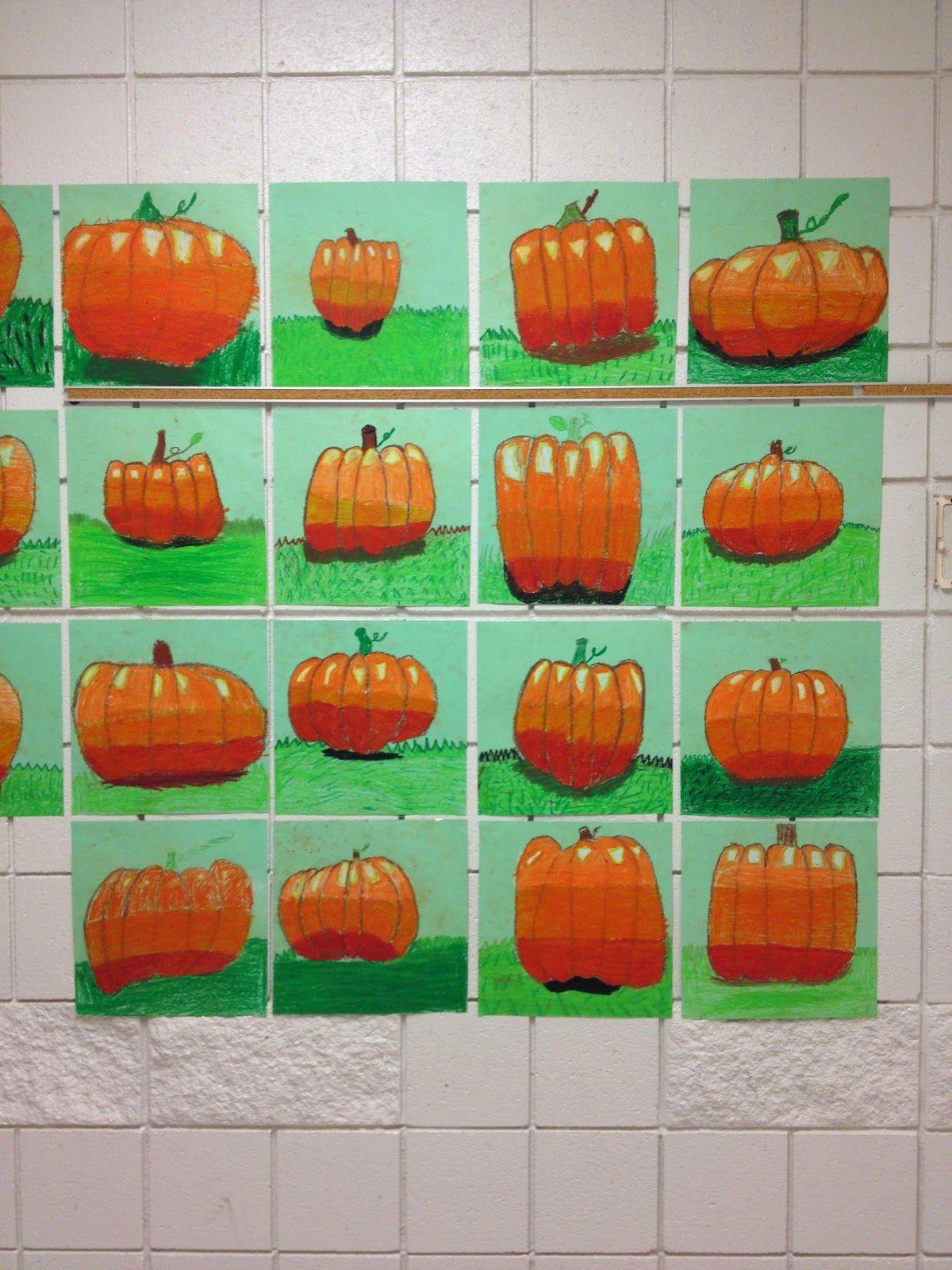 Tiger Apple Twist Pumpkin Still Life