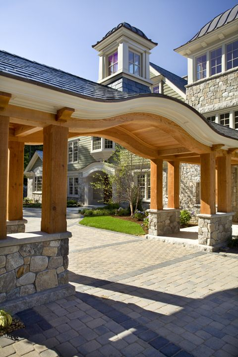 Driveway catalano architects inc photo by ed tarca interior architecture luxury design also best houses images in diy ideas for home country cottage rh pinterest