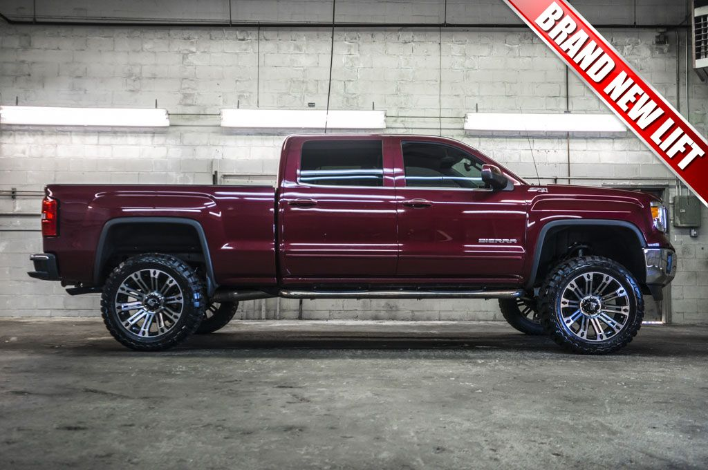 Like New 2014 Gmc Sierra 1500 Sle 4x4 Truck With A Brand New 6