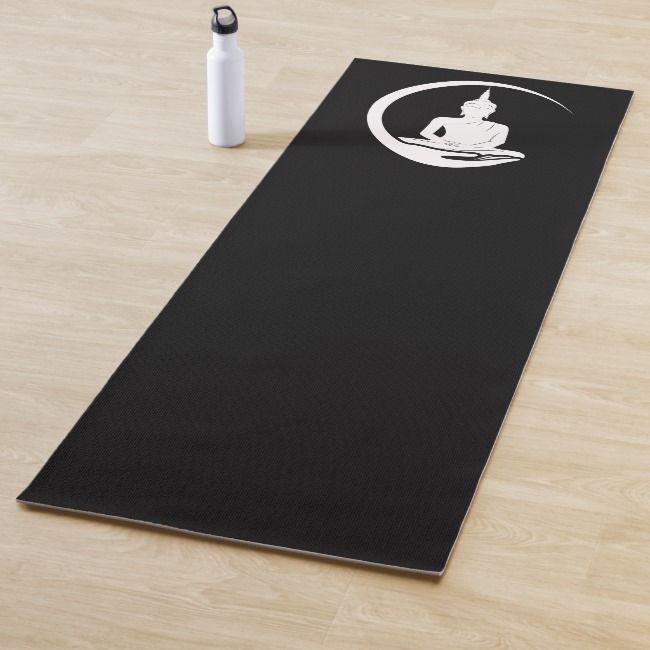 Praying Buddha Yoga Mat | Zazzle.com