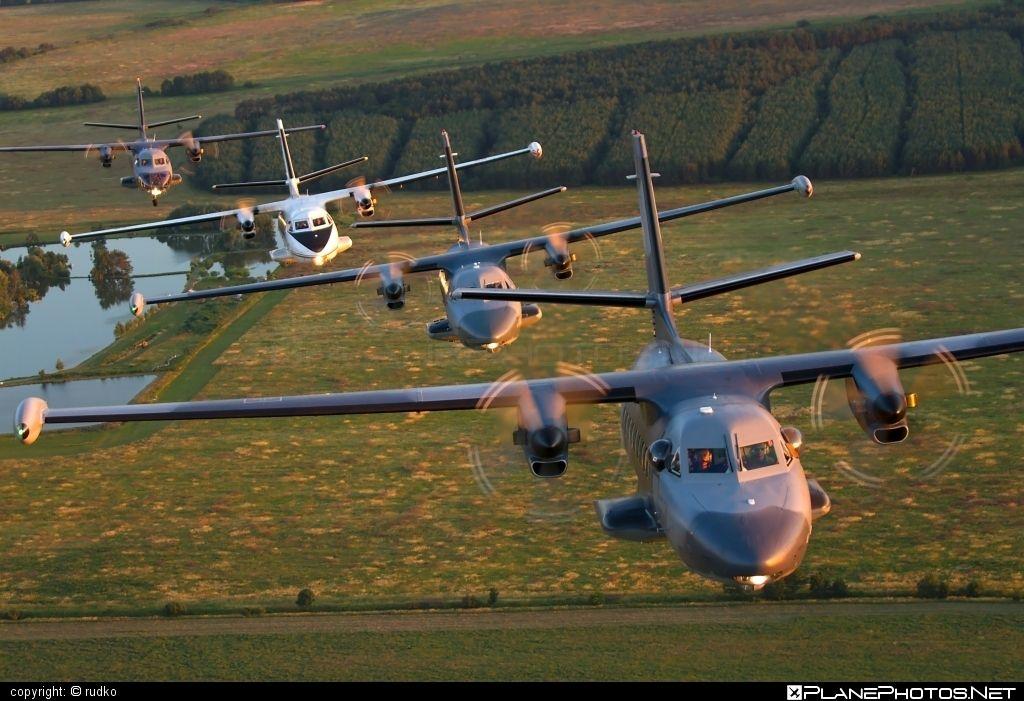 Let L-410UVP-E TurboletRegistration: 2311CN: 892311 Operator: Vzdušné sily OS SR (Slovak Air Force) Location: Slovakia - Inflight