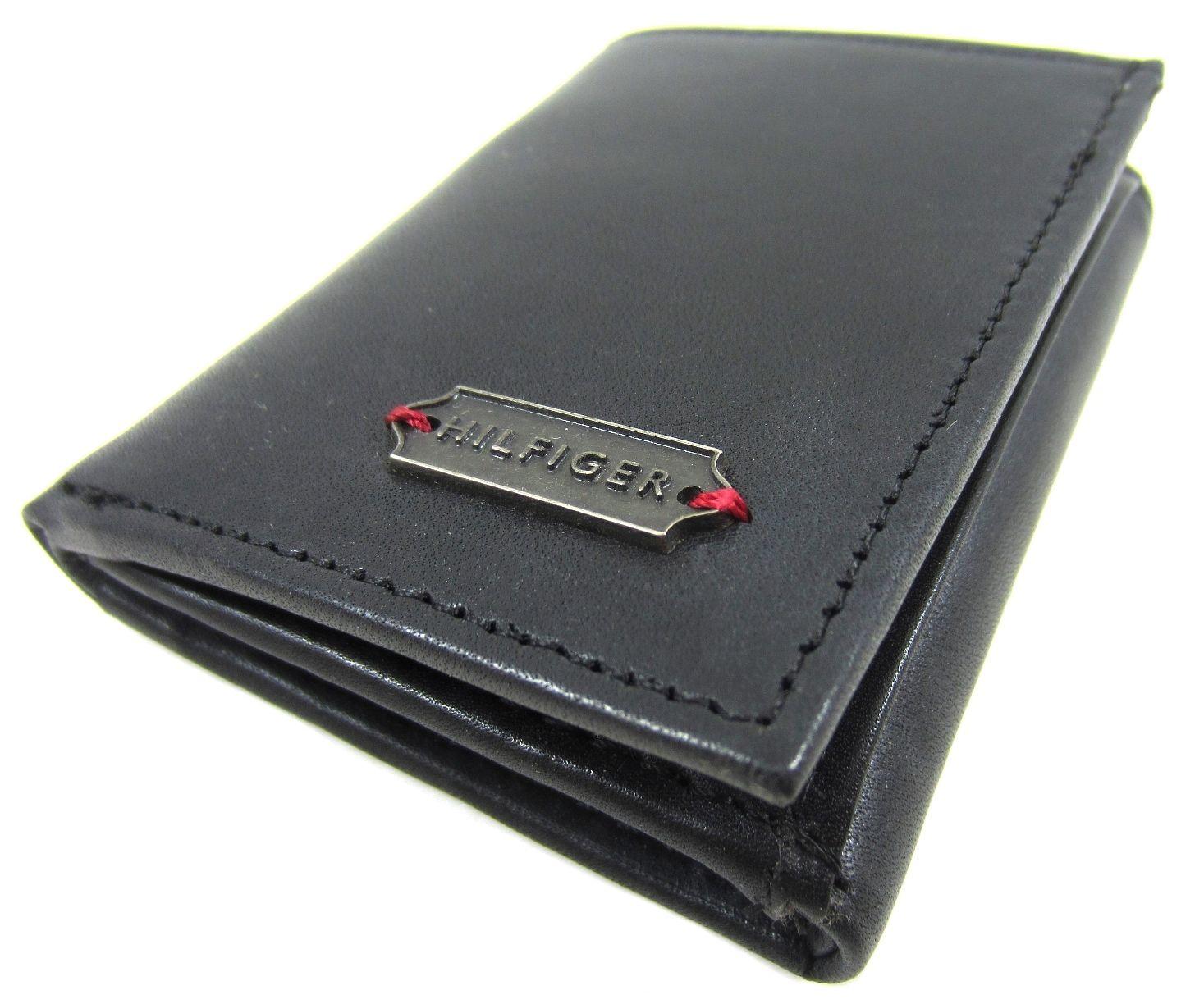 501b6551d98 Tommy Hilfiger Elgin Black Slim Trifold Wallet - Tommy Hilfiger Wallets - Designer  Wallets