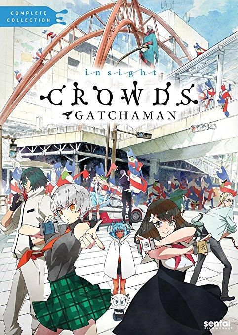 Gatchaman Crowds Insight Gatchaman crowds, Gatchaman